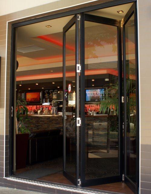 Bi-fold-door-Bankstown-pub & Timber u0026 Aluminium Multi-Fold Doors