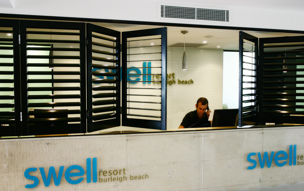 Shutters for Swell Resort Burleigh Gold Coast