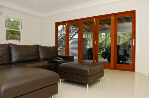 Timber amp Aluminium Multi Fold Doors Apex Window Shutters Gold Coast